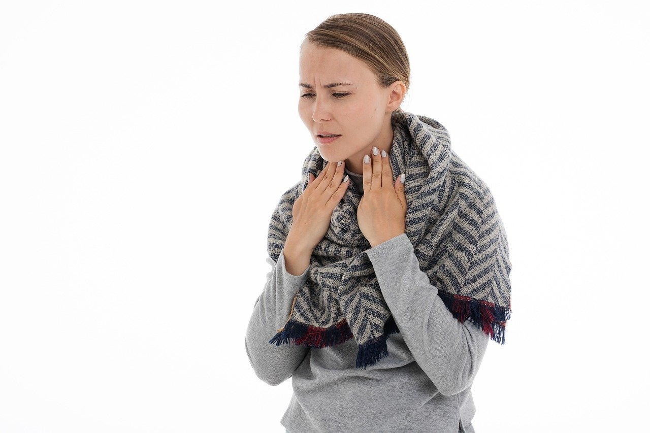 Halsbeschwerden
